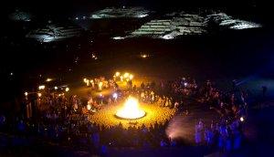 Ночное мероприятие в Карале. Архивное фото