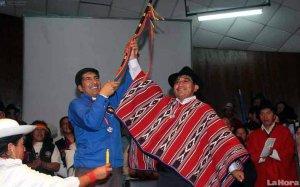 Карлос Перес Гвартамбель (слева) и Дельфин Тенесака (справа)