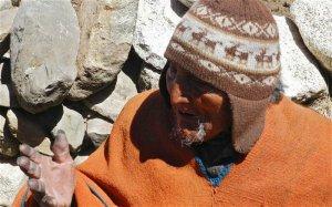 Кармело Флорес Лаура - индеец аймара из Боливии старейший человек на земле – ему 123 года.Фото - AFP/Getty Images