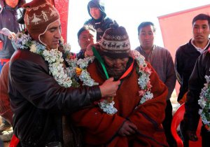 Боливийские власти признали 123-летнего индейца аймара «живым наследием человечества». Фото - EFE/Martin Alipaz.