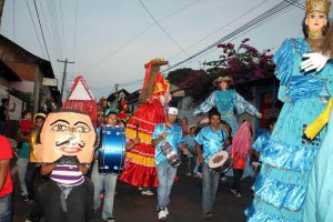 Карнавал мифов, легенд и традиций проходит в Леоне (Никарагуа). Фото - www.elpueblopresidente.com