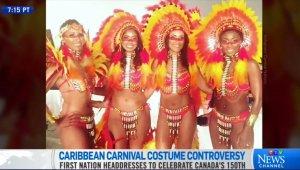 Канадских индейцев возмутили карнавальные костюмы