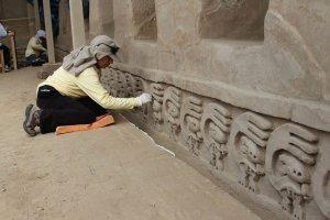 В Чан-Чане (Перу) найден беличий рельеф