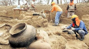 На севере Перу обнаружены 35 захоронений культуры Сикан. Фото - Wilfredo Sandoval / El Comercio