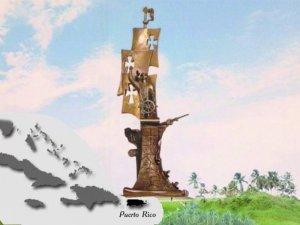 Бронзовый Колумб работы Церетели установили в Пуэрто-Рико (видео)