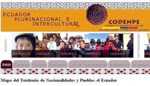 Статистические данные о коренных народах Эквадора сообщили в Codenpe