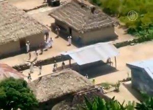 В колумбийском поселении оползень унёс жизни спящих индейцев (видео)