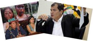 Президент Эквадора Рафаэль Корреа раскритиковал индейцев Сараяку