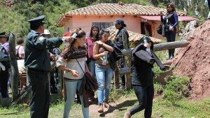 У руин Саксайуаман задержаны туристы в состоянии алкогольного и наркотического опьянения. Фото - Andina
