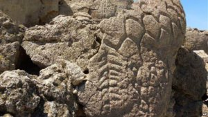 Древние рисунки на скалах в Неваде оказались старейшими петроглифами в Северной Америке. Фото - AP