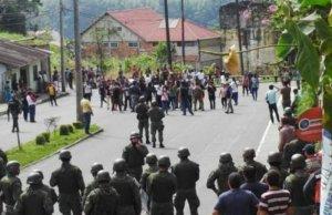 Волнения в эквадорской провинции Морона-Сантьяго. Индейцы напали на шахту Эксплоракобрес. Есть погибшие и раненые.