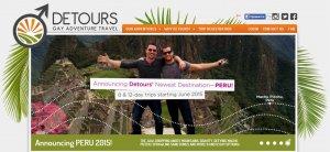 Перу привлекло внимание туроператора, ориентированного на ЛГБТ сообщество. Фото - скриншот сайта компании Detours Travel / detourstravel.com