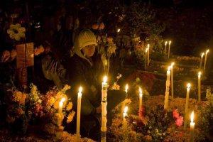По всей Латинской Америке отметили День мертвых. Фото - www.theclinic.cl