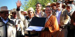 Министр культуры Перу: мы сообщаем всему миру, что Кесвачака уже стал частью наследия. Фото - Министерство культуры Перу / www.cultura.gob.pe