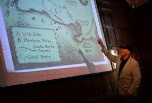 Барри Клиффорд, заявивший в мае о возможном обнаружении затонувшего флагмана Х.Колумба у берегов Гаити