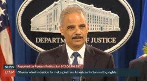 Генпрокурор США: избирательные права индейцев нарушаются