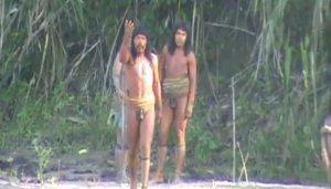В Перу снова отметили появление неконтактных индейцев машко-пиро вблизи от населенного пункта. Архивное фото