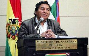 Феликс Карденас, заместитель министра по деколонизации Боливии