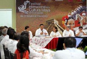 Международный фестиваль культуры майя, сокр. Fimaya, планируют провести власти штата Юкатан при поддержке министерства Туризма