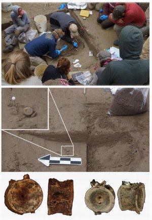 Раскопки в местечке Upward Sun River. Фото: Ben Potter, UAF