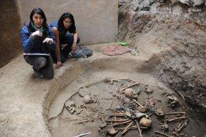 В Тлальпане (Мехико) проводятся раскопки доклассического поселения. Фото: INAH