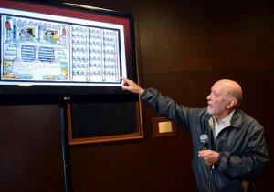 Эдуардо Матос Моктесума указал на то, что Бернардино де Саагун упоминал о существовании различных цомпантли и двух стадионов. Фото: Héctor Montaño, INAH