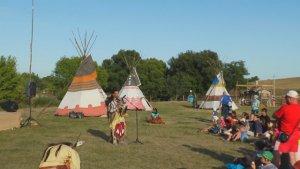Питерский клуб «Дикий Запад» под Липецком показал, как жили индейцы Северной Америки. Фото - LRNews.ru