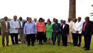 На XXV встрече лидеров 15 стран-членов Карибского сообщества (КАРИКОМ). Фото - caricom.org
