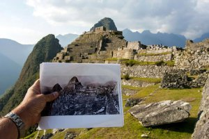 Тогда и сейчас: Мачу-Пикчу на фото Хайрама Бингема 1912 г. Фото - Jonathan Irish, 2013 г. / intelligenttravel.nationalgeographic.com/author/jirish/