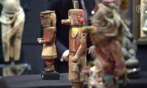 Маски индейцев хопи снова пустили с молотка