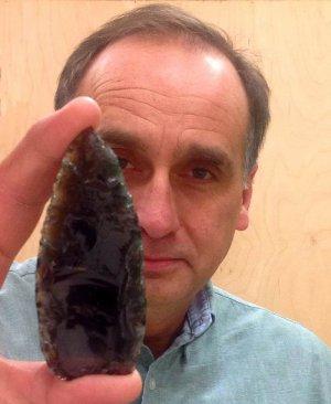 Карл Хатчингс, археолог канадского университета Томпсон Риверс (Thompson Rivers University)