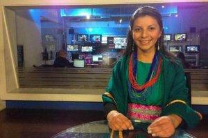 На одном ТВ канале Колумбии у индейцев появилась своя телепрограмма. Фото - Revista Arcadia