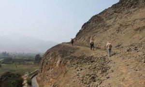 В долине реки Лурин (Перу) найдена дорога инков