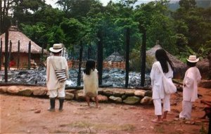 В Колумбии молния ударила прямо в здание, где проводились ритуалы – есть жертвы. Фото - Рикардо Перес Перес / eltiempo.com