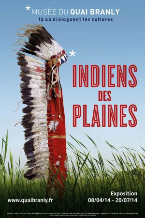 В Париже в музее на набережной Бранли проходит выставка «Индейцы прерий»