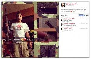 Стрельба в американской школе Мэрисвилля – есть жертвы. На фото - Джейлен Фрайберг