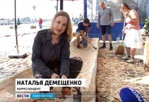 В Калининграде строят лодку-долблёнку североамериканских индейцев для парада малых средств передвижения