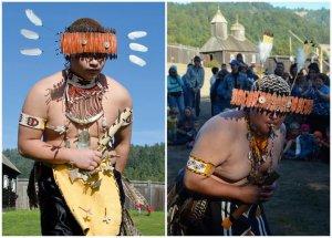Индейцы кашая совершают ритуальный танец в Форт-Россе. Фото - Пол Кристофер Миллер / paulcmiller.com