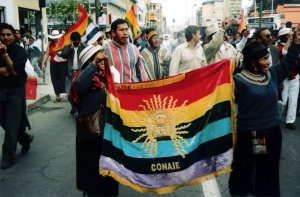 Протест коренных народов в Эквадоре. Архивное фото - solydair.free.fr