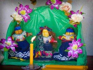 Церемония Ла Паач – ритуал поклонения кукурузе, практикуемый в Сан-Педро-Сакатепекесе