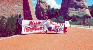 Навахо заставили ретироваться сенатора и губернатора штата Аризона