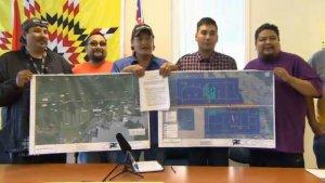 Пострадавшим от наводнения индейцам канадской провинции Манитоба выделят новую территорию. Фото - кадр видео