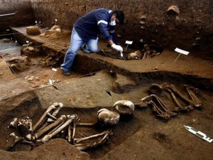 Захоронение культуры Маркавалье найдено в Куско (Перу). Фото - Andina / andina.com.pe