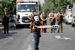 Традиционный марш Сопротивления мапуче завершился массовыми столкновениями