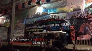 Субкоманданте Маркос 25 мая объявил о том, что оставляет пост публичной фигуры движения. Изображение - кадр видео / vk.com/freetravels