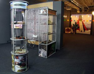 Небольшая экспозиция «Индейцы Амазонии» представлена на выставке «Америка до Колумба». Фото - А. Матусовский / www.andreymatusovskiy.com