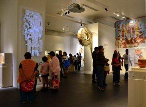 Выставка «Майя: откровение бесконечного времени» прибыла в Бразилию. Архивное фото с выставки в Мехико (13.12.2013-27.04.2014)