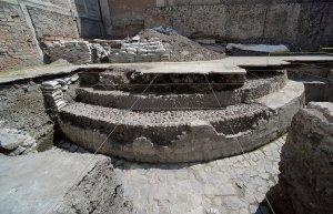 Представлены результаты раскопок храма Эекатля и площадки для игры в мяч Теночтитлана. Фото: Héctor Montaño, INAH