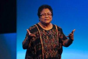 представитель Форума ООН по вопросам коренных народов Мирна Каннингем