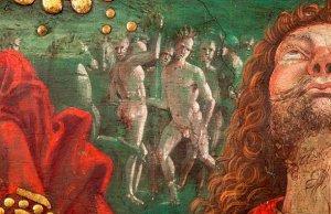 Картина Пинтуриккьо, написана спустя два года после открытия Америки Колумбом. Фото: Музей Ватикана